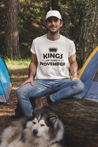 Kings Born In November T-shirt