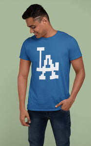 La Los Angeles Baseball T-shirt
