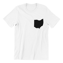 Load image into Gallery viewer, Ohio Heart Pocket T-shirt