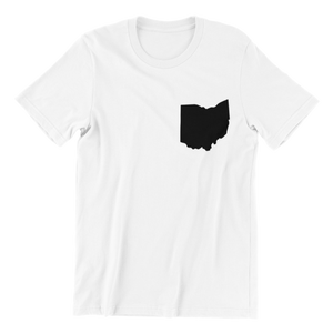 Ohio Heart Pocket T-shirt