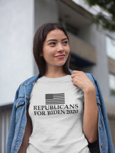 Load image into Gallery viewer, Republicans For Biden 2020 T-shirt