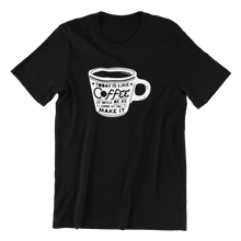 Load image into Gallery viewer, Today Is Like Coffee T-shirt