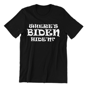 Where's Biden Hide'n T-shirt