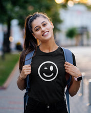Load image into Gallery viewer, Wink Face T-shirt