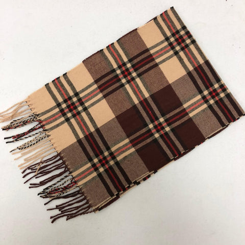 Cashmere Feel Scarf FW028 Brown/Beige