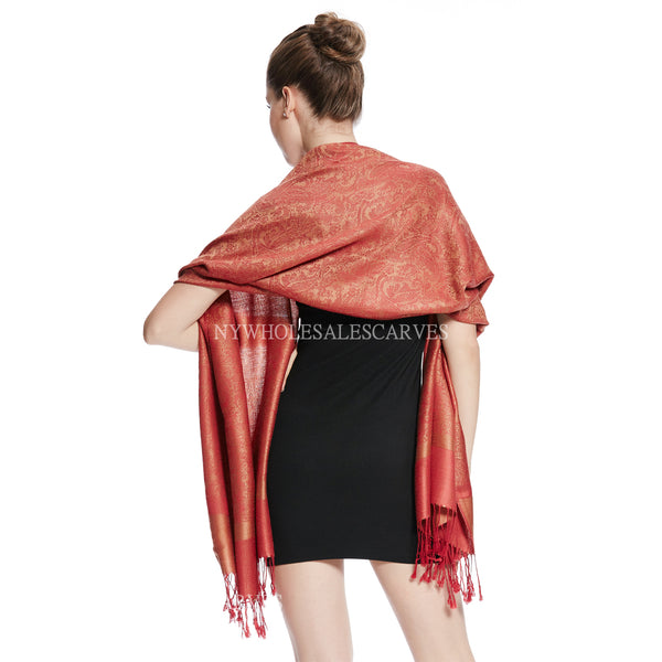Whole Jacquard Pashmina FW1811