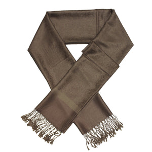 Whole Jacquard Pashmina FW1821  Dark Olive