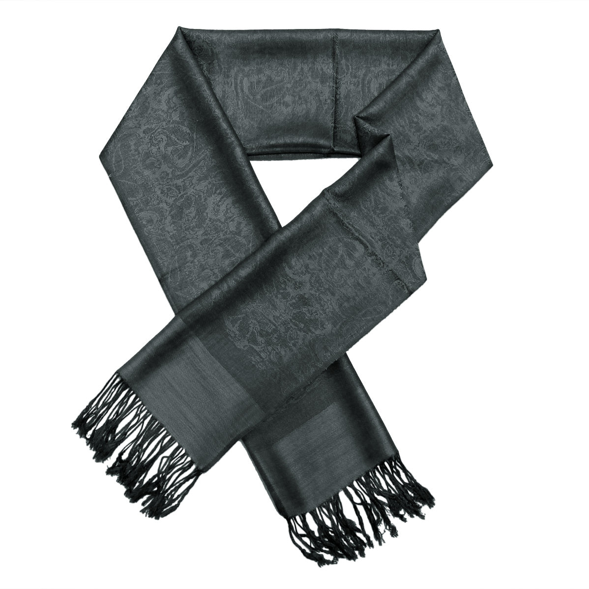 Whole Jacquard Pashmina FW1836  Heather Grey