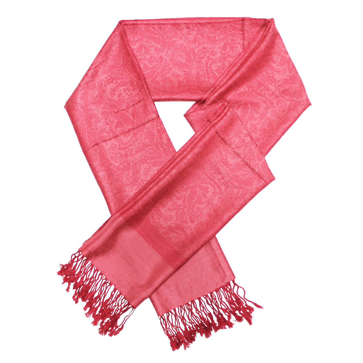 Whole Jacquard Pashmina FW1840 Baby Red