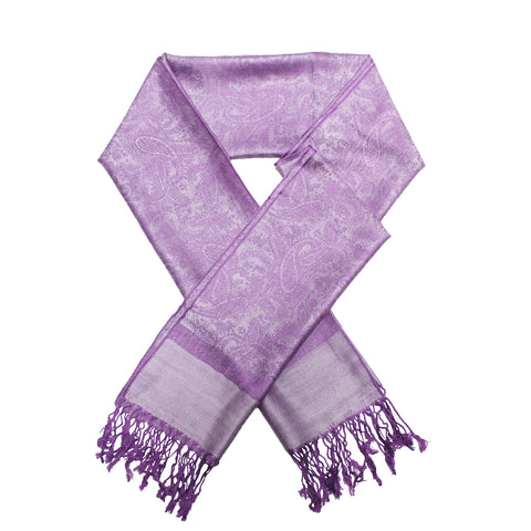 Whole Jacquard Pashmina FW1849 Purple