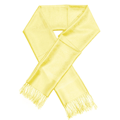 Whole Jacquard Pashmina FW1857 Yellow