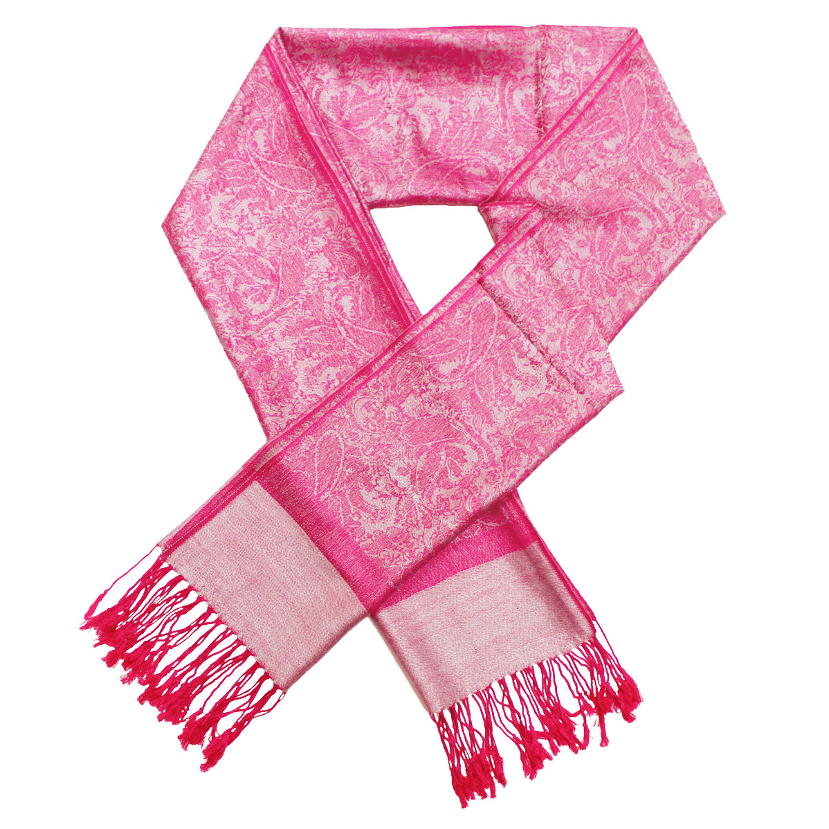 Whole Jacquard Pashmina FW1867 Orchid