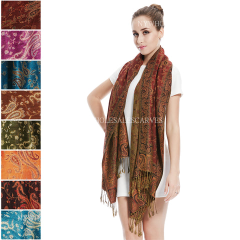 Gorgeous Paisley Pashmina FW023S Assorted Colors