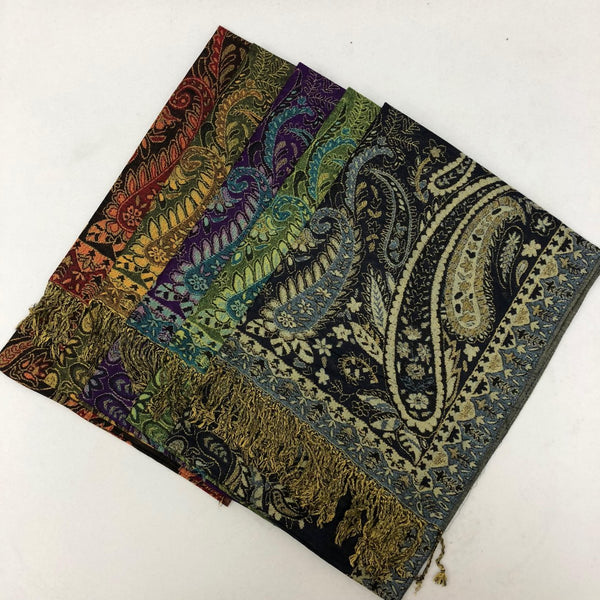 Festival Paisley Pashmina FW038S Assorted Colors