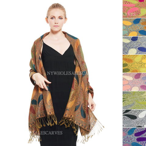 Ombre Rainbow Pashmina FW56S Assorted Colors