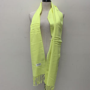 Cashmere Feel Scarf FW3929 Soft Lime Green