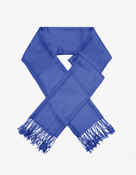 8110 True Blue Pashmina Scarf