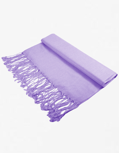 8116 Light Purple Pashmina Scarf