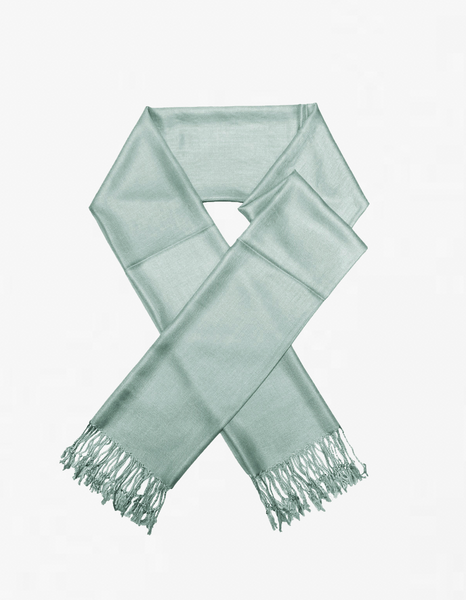 8127 Powder Blue Pashmina Scarf