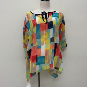 AA007 Multi Color Spring & Summer Poncho