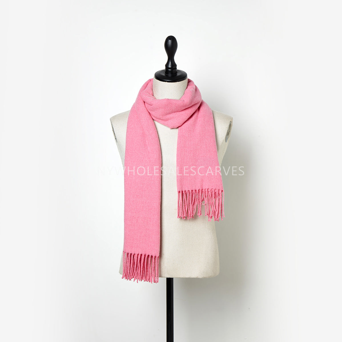 Solid Color Shawl FWZ2102 Rose Pink