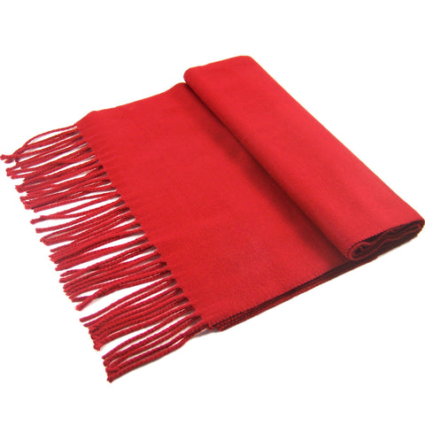 Cashmere Feel Scarf FW19-04 Red