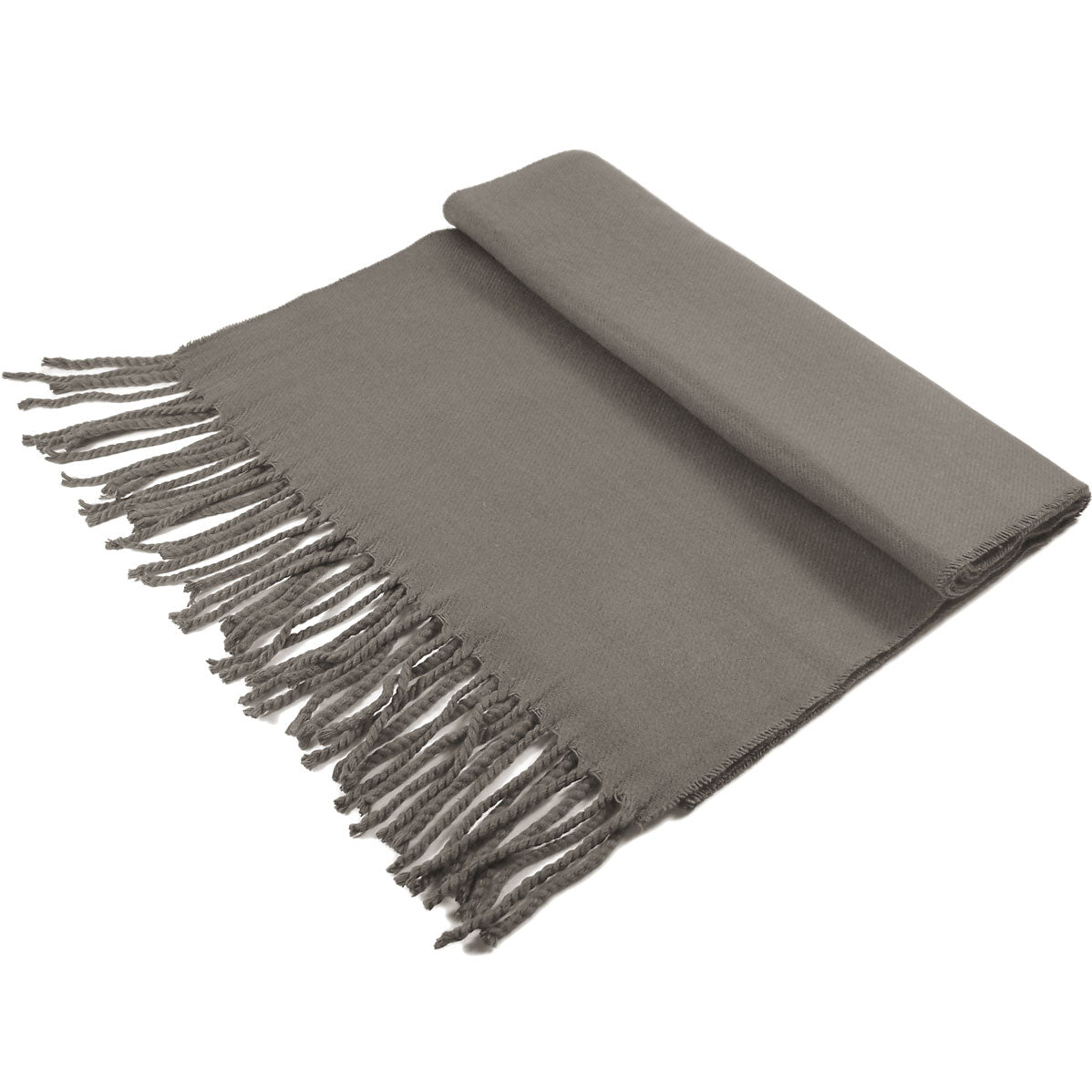 Cashmere Feel Scarf FW19-06 Dark Grey