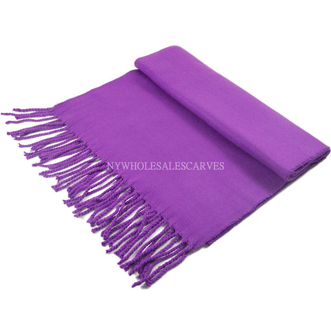 Cashmere Feel Scarf FW19-21 Violet