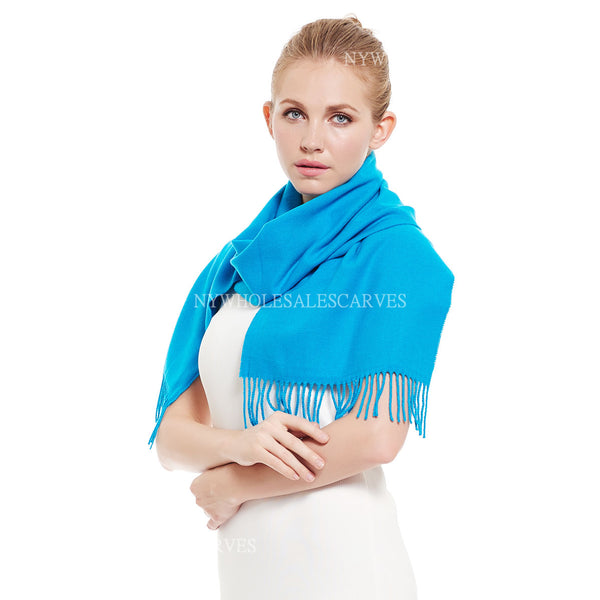 Cashmere Feel Scarf FW3274 Dodge Blue