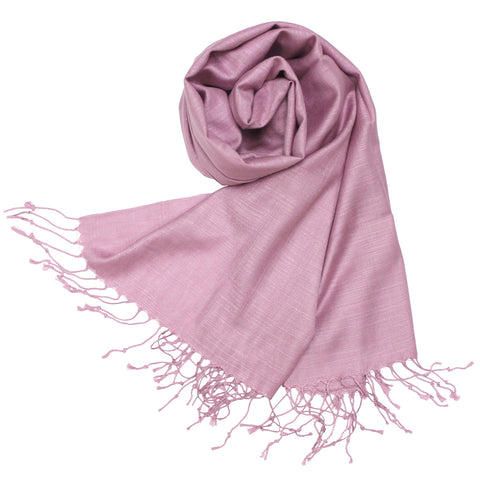 9318  Premium Silky Soft Bamboo Fiber Shawl  Orchid