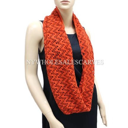 Knit Infinity Scarf FWS5345 Assorted Colors
