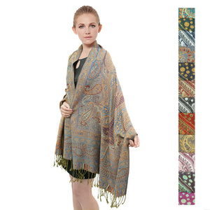 Luxurious Paisley Pattern FW045S Assorted Colors