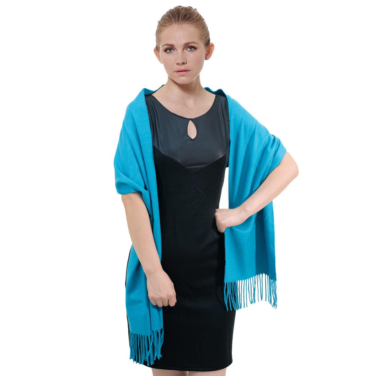 Cashmere Feel Scarf FW3275 Turquoise