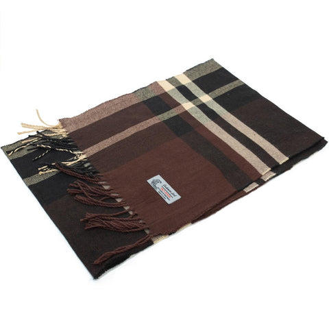 Cashmere Feel Scarf FW35-4 Coffee