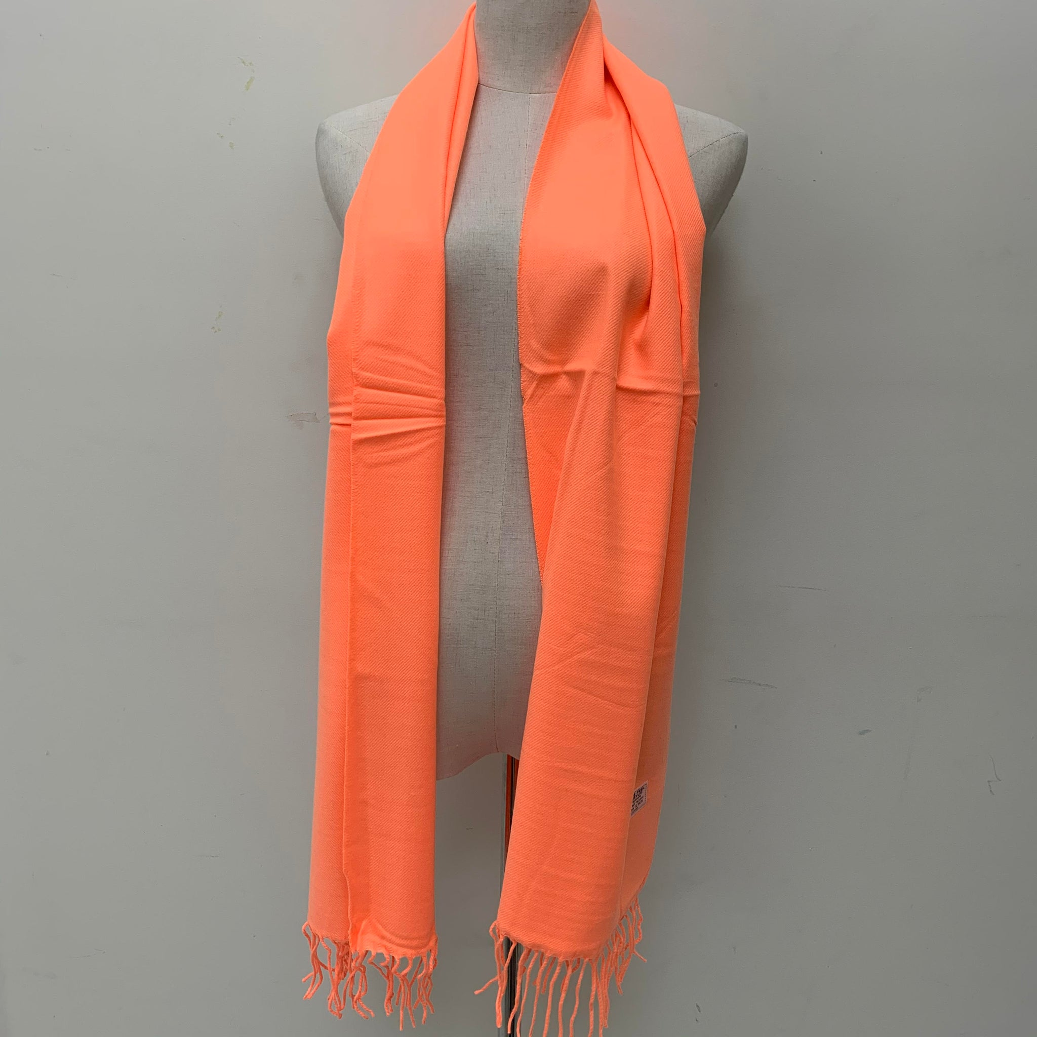 Cashmere Feel Scarf FW3931 Solid Orange