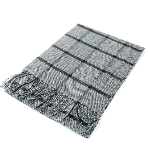 Cashmere Feel Scarf FW51753 Grey/Black