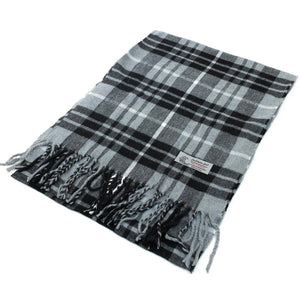 Cashmere Feel Scarf FW102012 Black/Grey