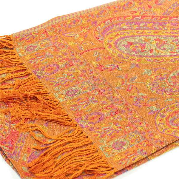 Tradition Indian Paisley  Pashmina FW042S Assorted Colors