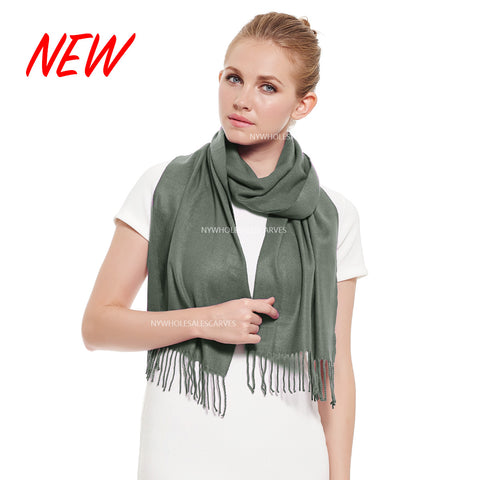 Cashmere Feel Scarf FW19-26 Manatee