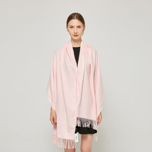 Cashmere Touch Solid Shawl FW231453 Pink
