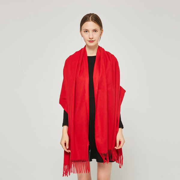 Cashmere Touch Solid  Shaw  FW231457    Red