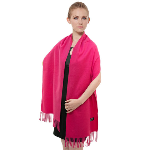 Cashmere Feel Scarf FW3310 Hot Pink
