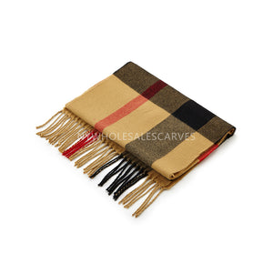 Cashmere Feel Scarf FW2006 Light Brown