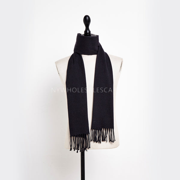 Cashmere Feel Scarf FW19-22 Ink