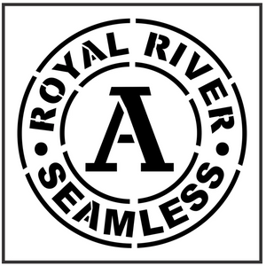 Royal River Stencil
