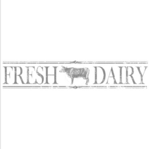 Decor Transfer- Fresh Dairy 12x60