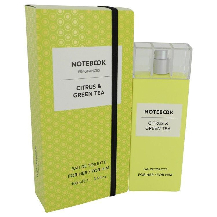 NOTEBOOK CITRUS & GREEN TEA by Selectiva (UNISEX) EDT SPRAY 3.4 OZ