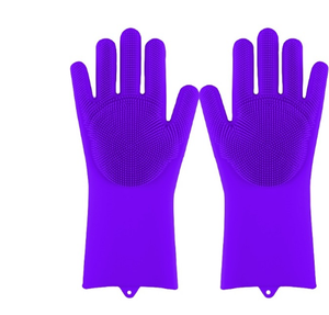 Silicone Cleaning Scrubber Gloves