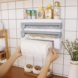 Kitchen Wall-Mount Roll Holder