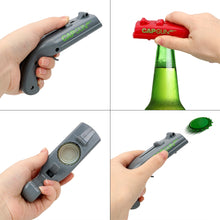 Load image into Gallery viewer, Firing Cap Gun Bottle Opener